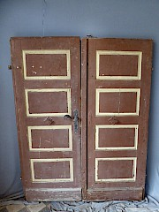 zweifl glige t r aus weichholz din rechts ca 147 5 x 189 5 cm. Black Bedroom Furniture Sets. Home Design Ideas
