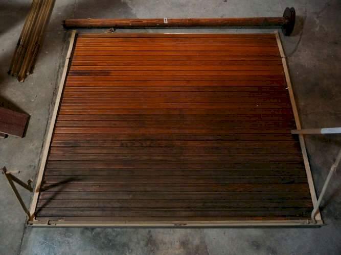 holzrollladen 120 stk. Black Bedroom Furniture Sets. Home Design Ideas