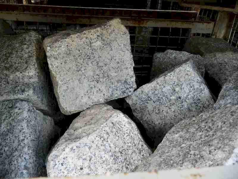 pflastersteine granit grau neu gro pflaster 1 20. Black Bedroom Furniture Sets. Home Design Ideas