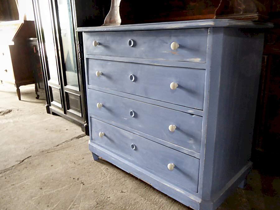 weichholz kommode im shabby chic stil 450. Black Bedroom Furniture Sets. Home Design Ideas