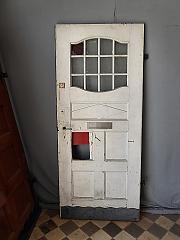 Bevorzugt Englische Haustür mit Briefschlitz und Türklopfer DIN rechts, ca BB53